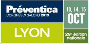 Salon Preventica de Lyon, Octobre 2015