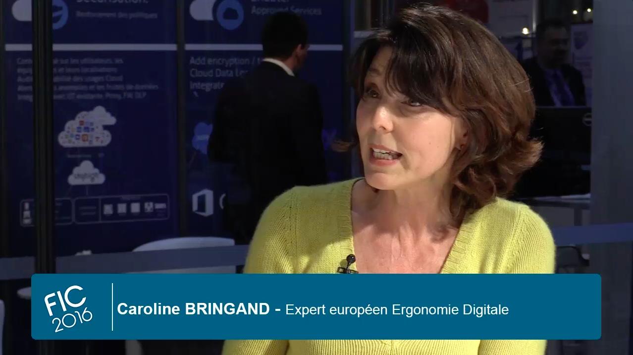 Caroline Bringand au Forum International de la Cybersécurité